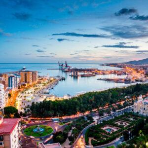 Bay of Málaga