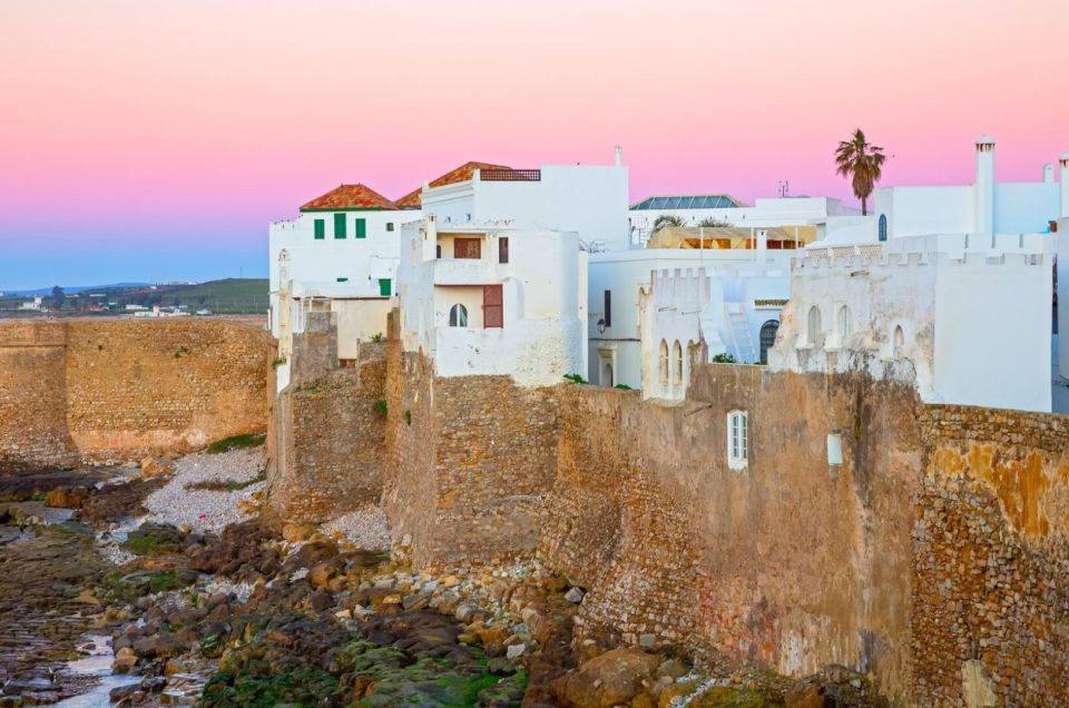 View of asilah day trips tangiers