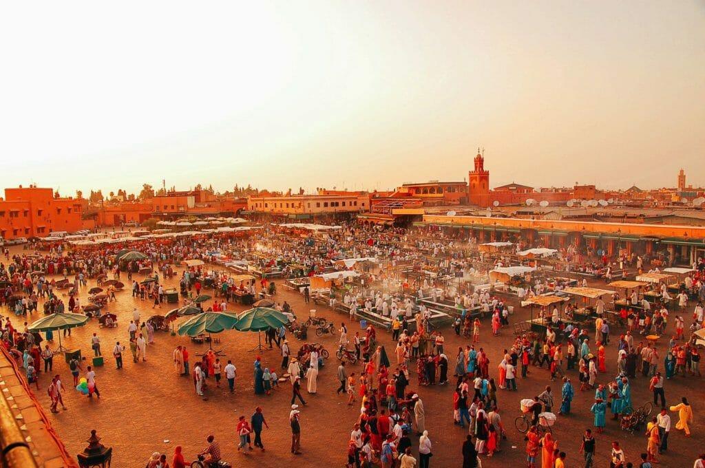 Marrakech plaza